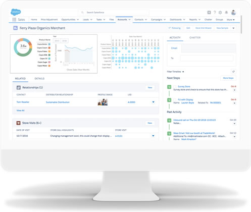 Salesforce Consumer Goods